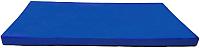 Гимнастический мат KMS sport №6 1x2x0.1м (синий) -