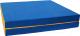 Гимнастический мат KMS sport Складной №10 1x1.5x0.1м (синий/желтый) -