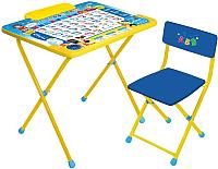 Комплект мебели с детским столом Ника КПМ/П Познайка -