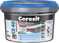 Фуга Ceresit CE 40 Aquastatic (5кг, черный) -