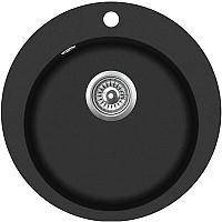 Мойка кухонная Teka Clave 45 B-TQ 1B / 40148140 (черный металлик) -