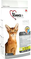 Корм для кошек 1st Choice Adult Hypoallergenic Duck (2.72кг) -