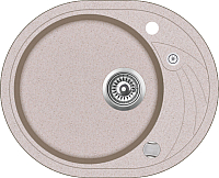 Мойка кухонная Teka Clave 45 S-TQ 1B / 40148153 (песочный) -
