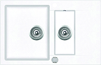 Мойка кухонная Teka Clivo 60 B-TQ / 40148024 (белый) -