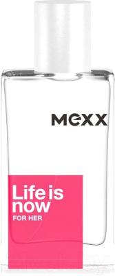 Туалетная вода Mexx Life Is Now For Her mexx life is now for him туалетная вода 50мл