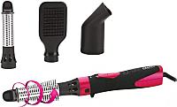 Фен-щётка Centek CT-2058 (розовый/черный) -