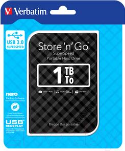 Внешний жесткий диск Verbatim Store 'n' Go 1TB / 53194