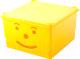 Ящик для хранения Полимербыт Улыбка 830-83000 (желтый) -