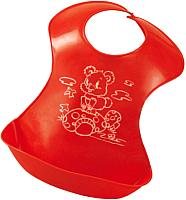 Нагрудник детский Sun Delight 34017 (красный) -