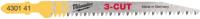 Набор пильных полотен Milwaukee T234X 4932430141 -