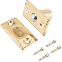 Фиксатор дверной Аллюр 588 GP европакет (золото) -