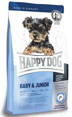 Корм для собак Happy Dog Supreme Mini Baby & Junior