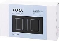 Ватные диски Missha Cotton Puff 100 (100шт) -