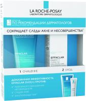 Набор косметики для лица La Roche-Posay Effaclar Duo+ гель 15мл + гель 50мл -