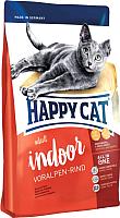Корм для кошек Happy Cat Supreme Indoor Voralpen-Rind Alpine Beef (10кг) -