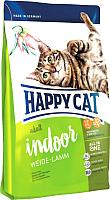 Корм для кошек Happy Cat Supreme Indoor Weide-Lamm Farm Lamb (10кг) -