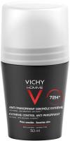 Антиперспирант шариковый Vichy Homme против избыточного потоотделения 72ч (50мл) -