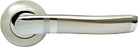 Ручка дверная Rucetti RAP 3 SN/CP -