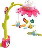Мобиль на кроватку Smoby Цветок 211374 (розовый) -