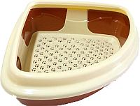 Туалет-лоток Dogman Триплекс D71 -