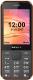 Мобильный телефон Texet TM-302 (черный/красный) -