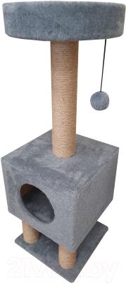 Комплекс для кошек Cat House На ножках 1.05