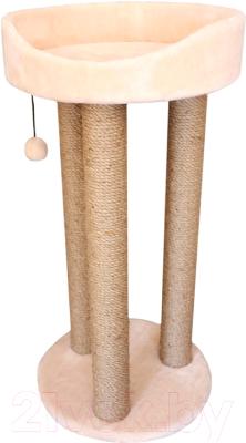 Лежанка-когтеточка Cat House Тринога 0.85