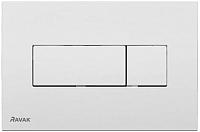 Кнопка для инсталляции Ravak Uni X01457 (белый) -