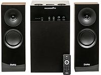 Мультимедиа акустика Dialog Progressive AP-250 (коричневый) -