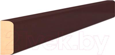 Притворная планка Portas 1x3x207 (орех шоколад)