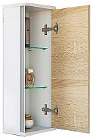 Шкаф-полупенал для ванной Aqwella Майами / Mai.04.25 -