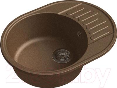 Мойка кухонная GranFest Quarz GF-Z58 (терракот)