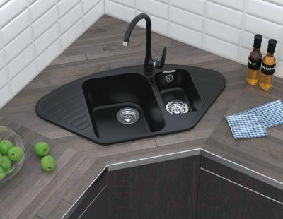 Мойка кухонная GranFest Quarz GF-Z14 (серый)