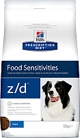 Корм для собак Hill's Prescription Diet Food Sensitivities z/d Original (10кг) -