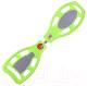 Снейкборд Action PW-502 (зеленый/серебристый) -