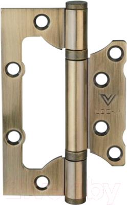Петля дверная Lockit MSF10060-2BB AB 100x60