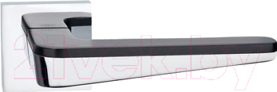 Ручка дверная Arni Капелла PC/Black / Z1916E15