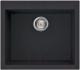 Мойка кухонная Elleci Quadra 105 Full Black G40 / LGQ10540 -