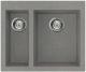 Мойка кухонная Elleci Quadra 150 Titanium M73 / LMQ15073 -