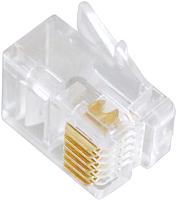 Коннектор Cablexpert MP-6P6C (100шт) -