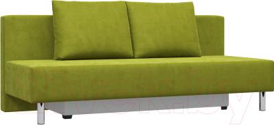 Диван Woodcraft Парма (зеленый велюр)