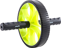 Ролик для пресса Starfit RL-103 (зеленый/черный) -
