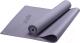 Коврик для йоги и фитнеса Starfit FM-101 PVC (173x61x0.5см, серый) -