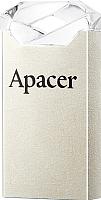 Usb flash накопитель Apacer AH111 Silver 16GB (AP16GAH111CR-1) -