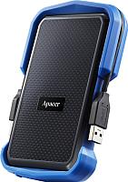 Внешний жесткий диск Apacer AC631 1TB Blue (AP1TBAC631U-1) -