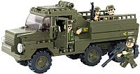 Конструктор Sluban Армейский грузовик / M38-B0301 -