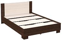 Полуторная кровать Империал Аврора 140 (венге/дуб молочный) -