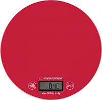 Кухонные весы Esperanza Mango EKS003R (красный) -