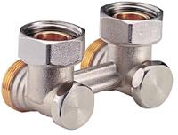 Клапан термостатический Giacomini Н-образный / R388X002 (угловой) -