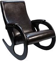 Кресло-качалка Calviano Бастион 4 (экокожа/selena venge) -
